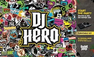 DJ Hero - Image: Dj hero cover