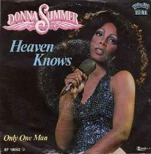 Heaven Knows (Donna Summer song) - Image: Donnaheavenknows
