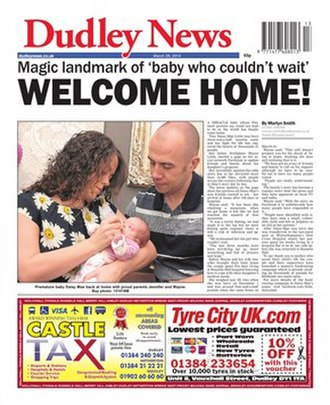 Dudley News - Image: Dudley News