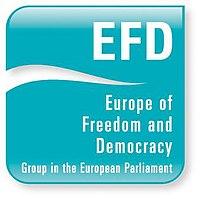 Europe of Freedom and Democracy logo