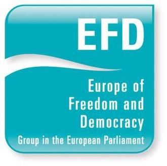 Europe of Freedom and Democracy - Europe of Freedom and Democracy Group logo