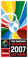 Official logo of the 2007 FIBA Americas Championship