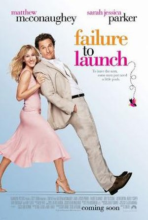 Failure to Launch - Theatrical release poster