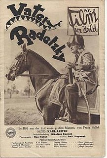 <i>Father Radetzky</i> 1929 film