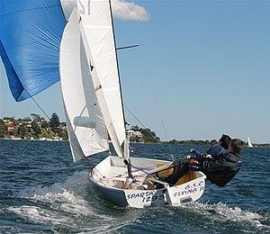 Flying Eleven - Image: Flying Eleven Sailing