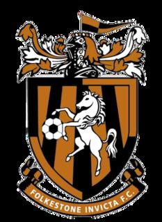 Folkestone Invicta F.C. Association football club in England