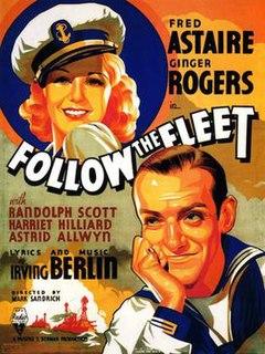 <i>Follow the Fleet</i> 1936 film by Mark Sandrich