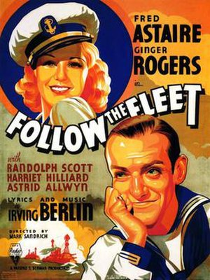 Follow the Fleet - original theatrical poster