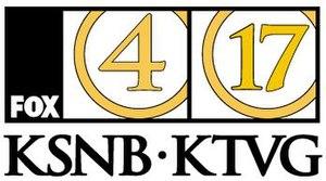 KSNB-TV - Former logo for KSNB/KTVG until the relaunch of KFXL in July 2009.