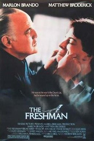 The Freshman (1990 film) - Theatrical release poster