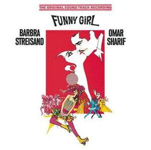 Funny Girl (soundtrack) - Image: Funny Girlsdtrkcover