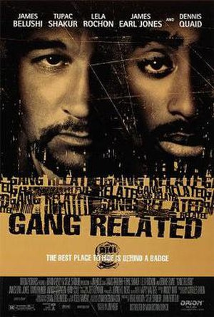Gang Related - Theatrical release poster