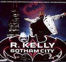 R. Kelly — Gotham City (studio acapella)