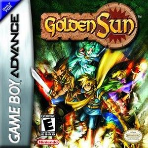Golden Sun - North American box art