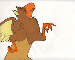 Gryphon (Alice's Adventures in Wonderland) - The Gryphon from a Disney Jell-O advert