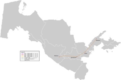 Highspeed Rail Wikipedia - Mapping plane highway and train traffic us