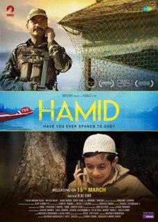 <i>Hamid</i> (film) 2018 Indian film directed by Aijaz Khan