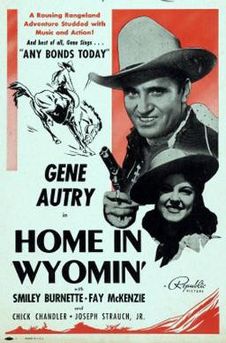 Home in Wyomin' - Image: Home in Wyomin' Poster