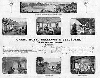 Glion Institute of Higher Education - Hotel Bellevue