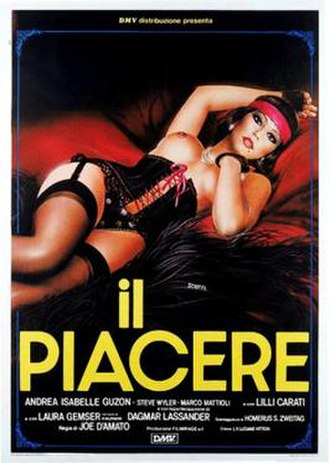The Pleasure - Italian theatrical release poster