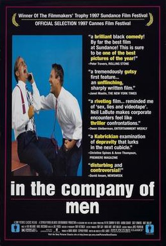 In the Company of Men - Theatrical release poster