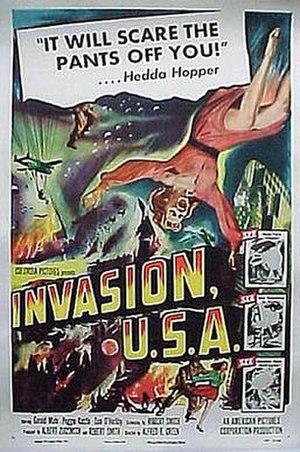 Invasion U.S.A. (1952 film) - Theatrical release poster