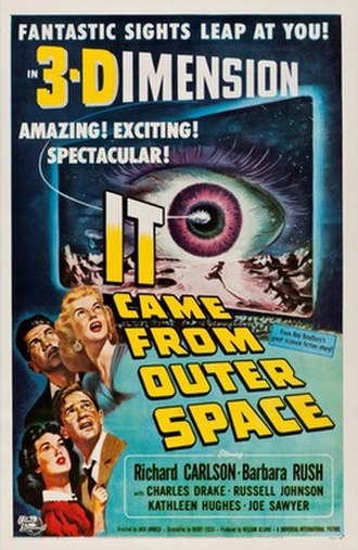 It Came from Outer Space - Theatrical release poster by Joseph Smith