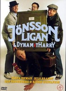 <i>Jönssonligan och Dynamit-Harry</i> 1982 Swedish film