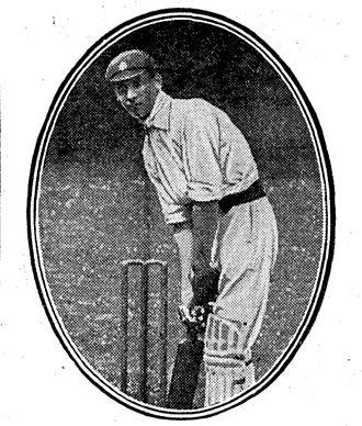 Jack Hobbs - Image: Jack Hobbs in 1906