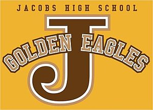 Jacobs High School - Image: Jacobs Golden Eagles Logo