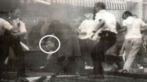 The First Domino - Image: Jonathan Cash Brixton Nail Bomb 1999 CCTV