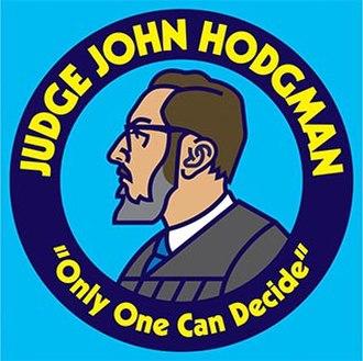 Judge John Hodgman - Image: Judge John Hodgman logo (since 2013)