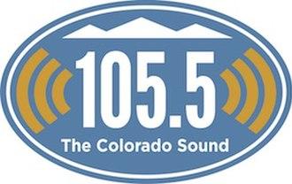 KJAC - Image: KJAC The Colorado Sound @ 105.5 FM