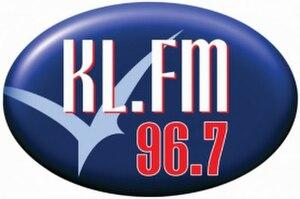 KL.FM 96.7 - KLFM 96.7 logo