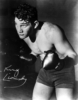 King Levinsky American boxer