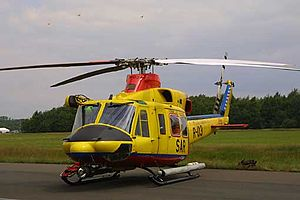 Netherlands Coastguard - Bell 412 Search and Rescue helicopter