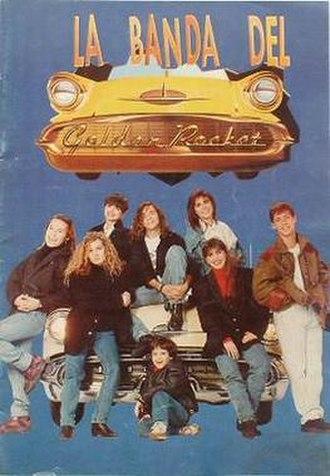 La Banda del Golden Rocket - Logo and main characters of the TV series