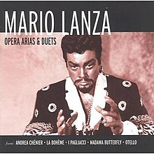 mario lanza be my love