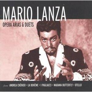 Mario Lanza: Opera Arias and Duets