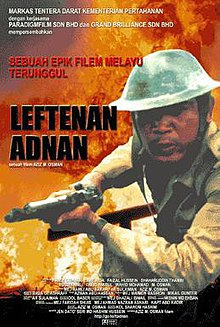 Leftenan Adnan movie