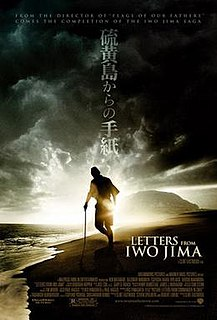 <i>Letters from Iwo Jima</i> 2006 film by Clint Eastwood