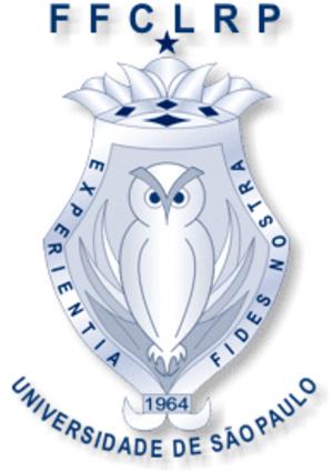 Faculdade de Filosofia, Ciências e Letras de Ribeirão Preto - FFCLRP logo featuring an owl