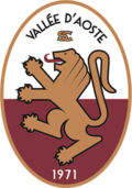 Logo of football team S.C. Vallée d'Aoste.png