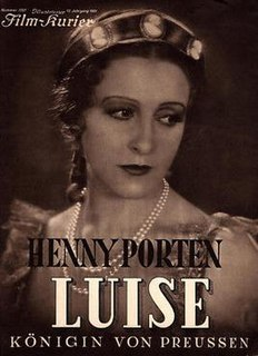 <i>Louise, Queen of Prussia</i> (film) 1931 film
