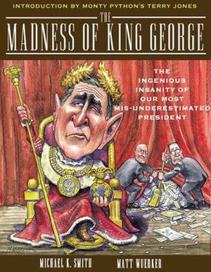The Madness of King George (book) - Cover of the paperback edition