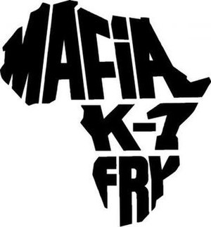 Mafia K-1 Fry - Image: Mafia k 1 fry logo