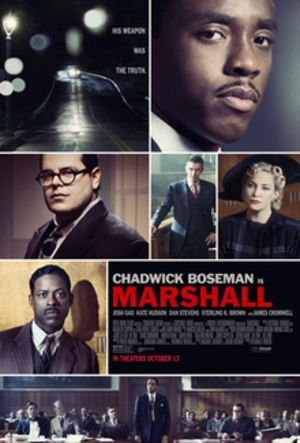 Marshall (film) - Theatrical release poster
