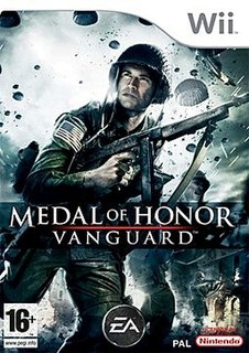 <i>Medal of Honor: Vanguard</i> 2007 video game