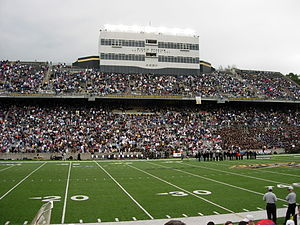Michie Stadium - Image: Michie Stadium Pressbox