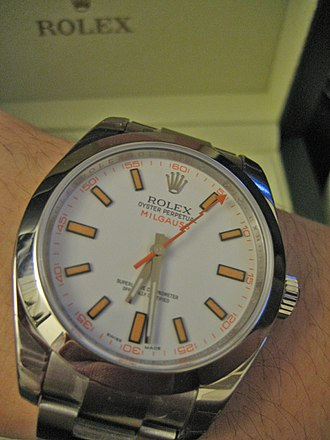 Antimagnetic watch - New version of the Rolex Milgauss
